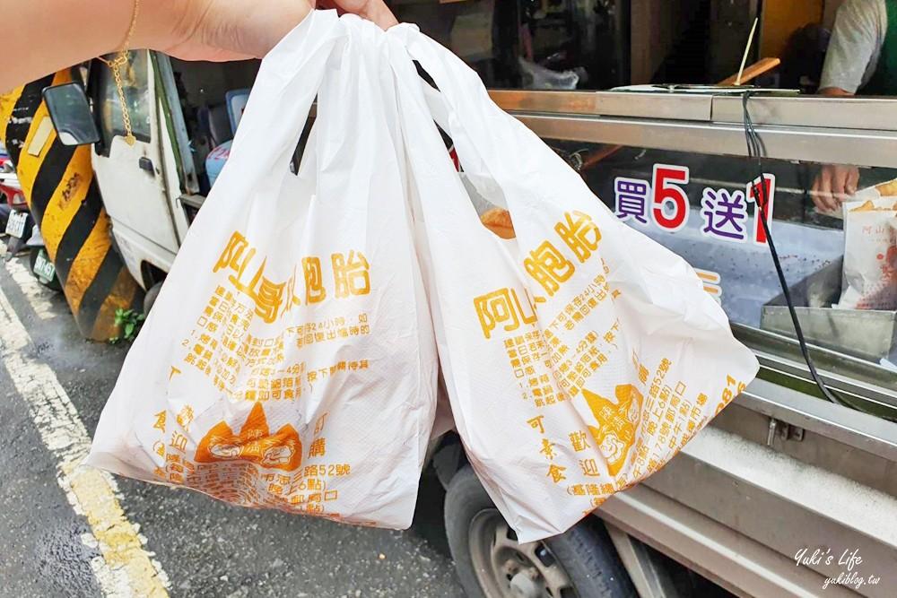 基隆美食》阿山哥雙胞胎~一個10元買5送1,還有發財蛋特別香酥! - yukiblog.tw
