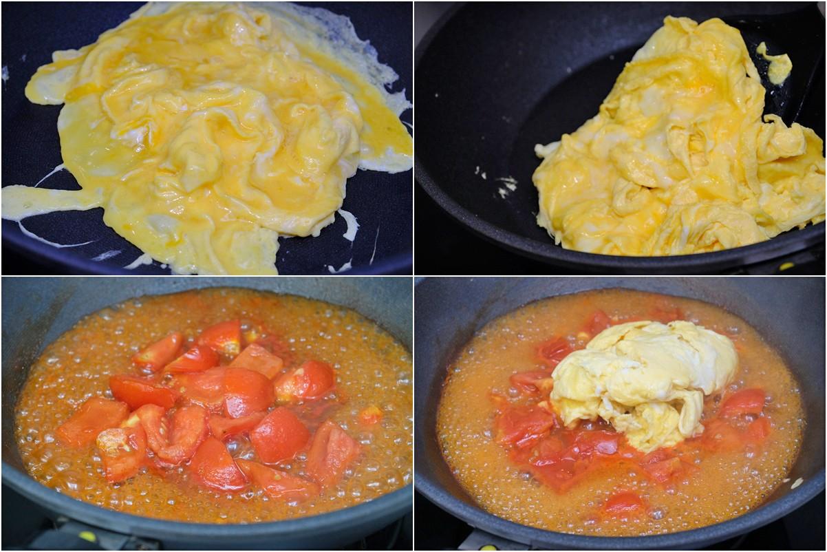 簡單食譜》番茄炒蛋~吃不膩的家常菜、便當菜!必學小撇步先炒蛋再炒番茄還要加糖 - yukiblog.tw