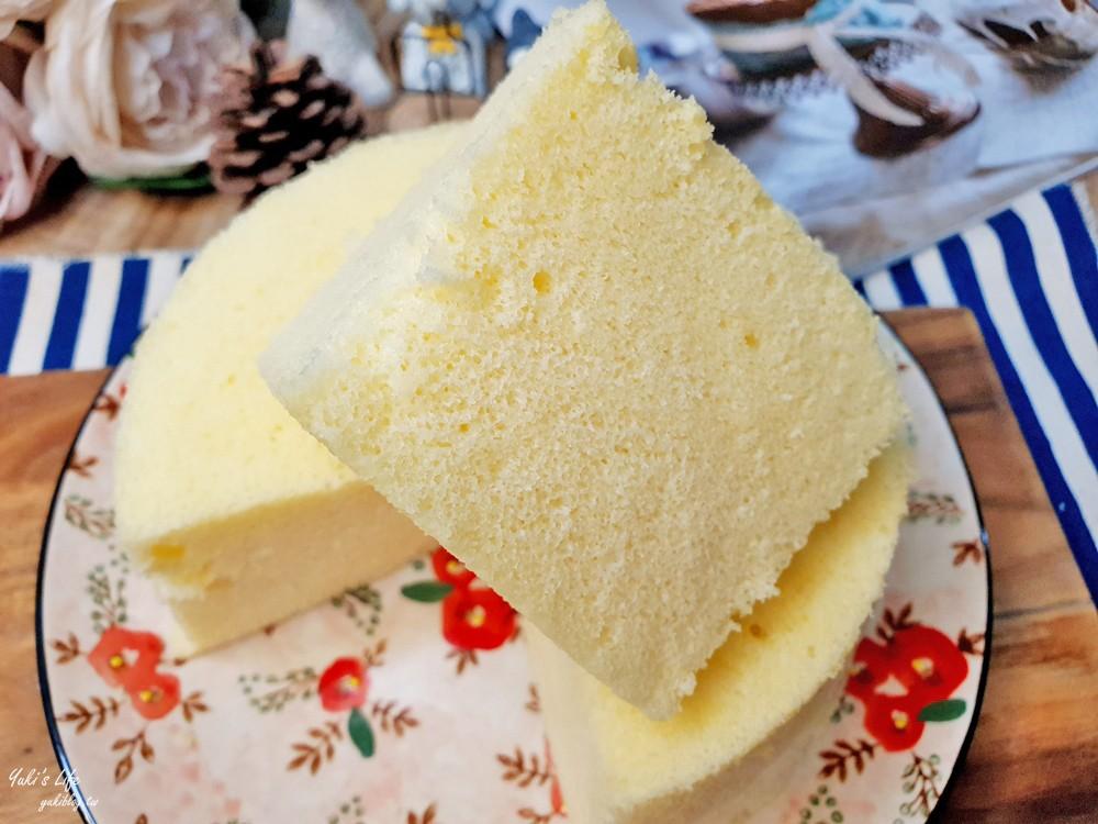 電鍋料理》大同電鍋蒸蛋糕~不用烤箱也能做戚風蛋糕作法 - yukiblog.tw