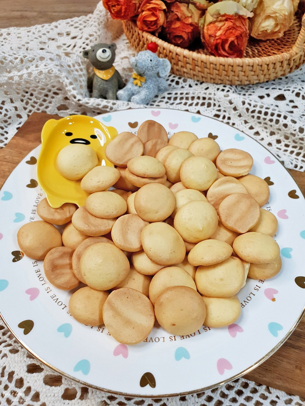 簡單食譜》古早味雞蛋餅乾~零失敗親子DIY,材料只要這三樣! - yukiblog.tw