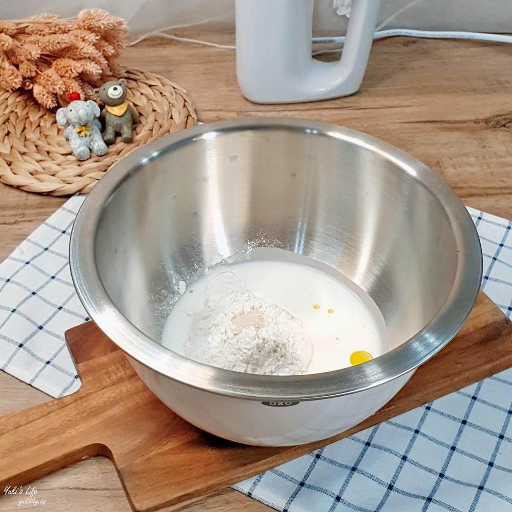 簡單食譜》鮮奶小饅頭~親子DIY有趣又好吃!製作過程不用1小時! - yukiblog.tw