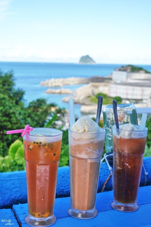 基隆也有溫泉魚泡腳「外木山景觀咖啡」看海景、餵羊、餵魚~ - yukiblog.tw