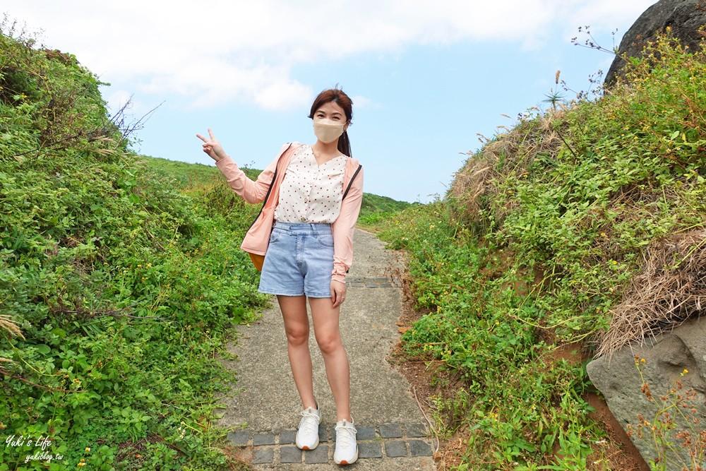 三芝看海景點「麟山鼻步道」適合全家人輕鬆走的海景步道、生態豐富、風稜石獨特景觀 - yukiblog.tw