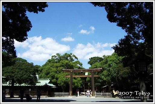 [2007東京見]Day3~ 明治神宮