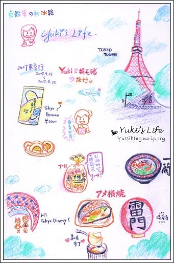 [手绘]色铅笔初验:2007东京