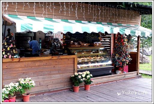 [食]三峽-皇后鎮森林 (下)~浪漫的戶外下午茶好去處 - yukiblog.tw