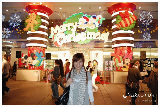 +。*东区Sogo充满浓浓耶诞气氛+.。*.○ Marry Christmas - yukiblog.tw
