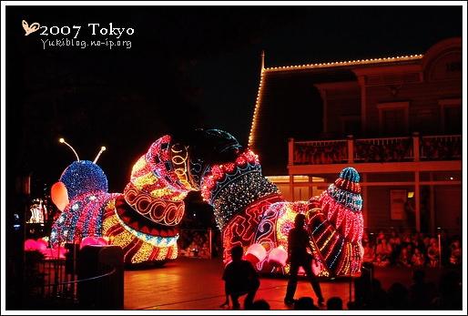 [2007 東京見]Day4~ 迪士尼-夢之光大遊行 - yukiblog.tw