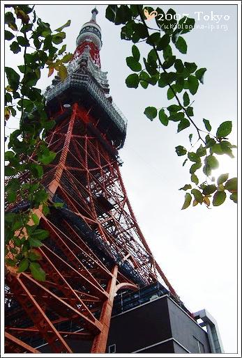 [2007東京見]Day5~ 散步。東京鐵塔 - yukiblog.tw