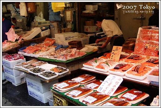 [2007东京见]Day5~ [阿美横町]吃-阿美烧&冰淇淋。逛-二木の菓子 - yukiblog.tw