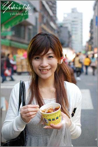 [龍山寺-小吃]頂級甜不辣+懷念愛玉冰+搶破頭の胡椒餅+阿鴻知高飯.鱸魚湯