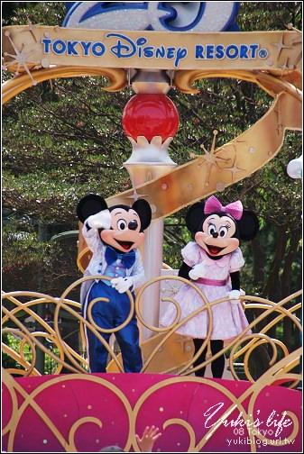 [08東京假期]Day4*Disney 25週年慶!live轉播秀! - yukiblog.tw
