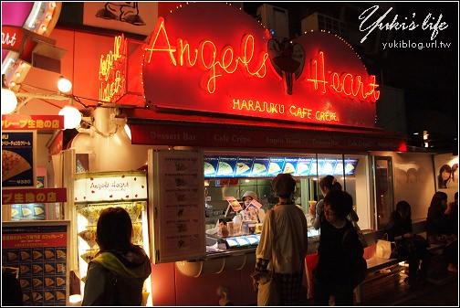 08 Tokyo 竹下通- Angels Heart可麗餅
