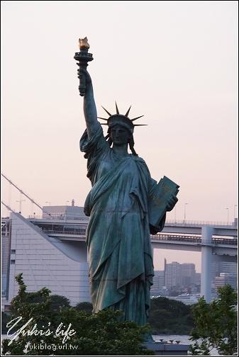[08東京假期]*C23台場-彩虹大橋 + 自由女神像 - yukiblog.tw