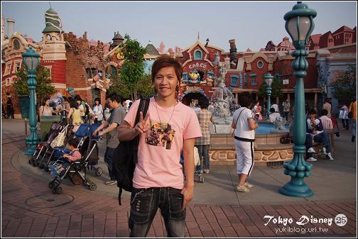 [08東京假期]*C29 Tokyo Disney25週年慶-卡通城&可愛角色合照 - yukiblog.tw