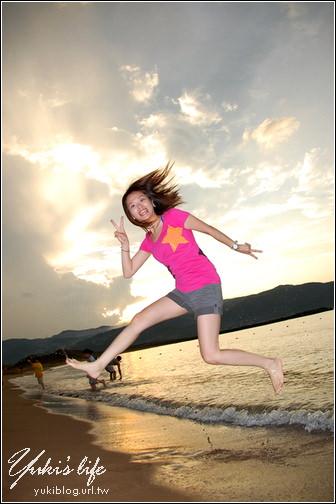 [北海岸2日遊]*新金山海水浴場 - jump。夏天! - yukiblog.tw