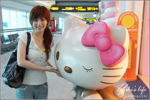hello kitty 候機室