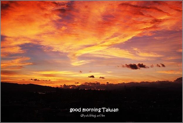 [照片分享]good morning Taiwan!清晨4点的云彩