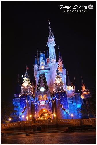 [08東京假期]*C55 Tokyo Disney25週年慶的夜晚 - yukiblog.tw