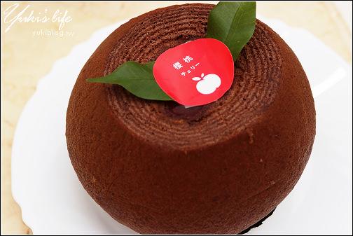 元樂年輪蛋糕-櫻桃