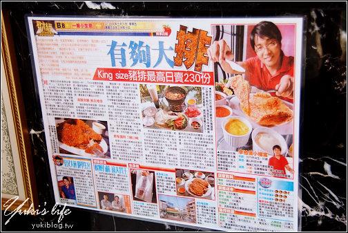 [台南之旅]*食-TIMA超大炸豬排 (驚!比臉還大塊~) - yukiblog.tw