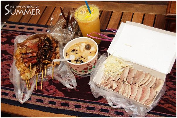 [09 SUMMER]-6*花蓮。第一家烤肉串&吉利果汁&五霸包心粉圓&鵝肉先生 - yukiblog.tw