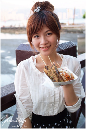 [台北-遊]*八里左岸渡船頭~吃雙胞胎.散散步 - yukiblog.tw