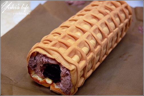 [試吃]*傌魯卷舖 ~ 巧克力鬆餅卷 - yukiblog.tw