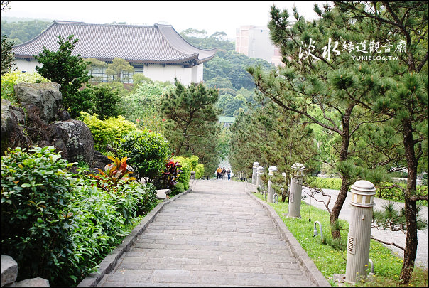 [台北-遊]*淡水緣道觀音廟~靜。彷佛來到日本