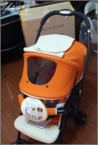 [育儿败家]*combi A型4.3kg轻量双向手推车 & 美国Babytrend 16吋超大车轮婴儿推车 - yukiblog.tw