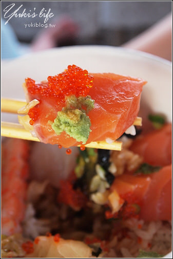 [樹林美食]*真香味。生魚丼飯(超值又美味) - yukiblog.tw