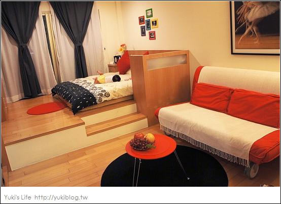 [高雄 宿]*日租型套房。甜心小屋~芭蕾房 by yukiblog.tw