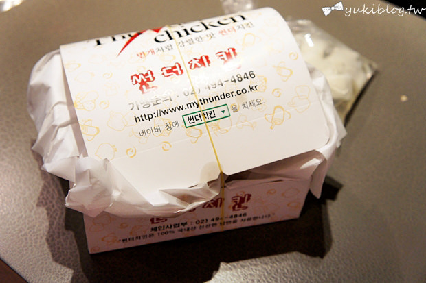 [2011韓國‧首爾行2+1]*21*來吃宵夜 ❤ Thunder chicken炸雞 - yukiblog.tw