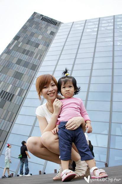 [宜蘭親子二日遊]*頭城-蘭陽博物館 ❤美麗又令人頭昏的三角建築 ❤ 小孩也能盡情玩樂❤