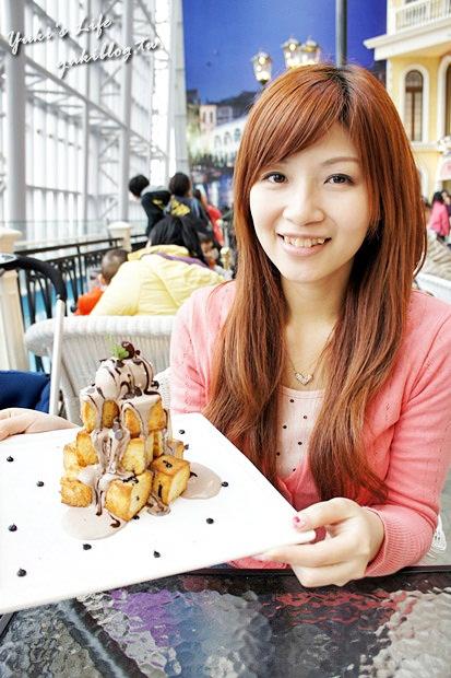 [板桥_食]*【大远百】跳舞香水Cafe ~❤ 黑金巧克力蜜糖吐司~❤恋奶花生松饼~❤照烧鸡肉三明治 - yukiblog.tw