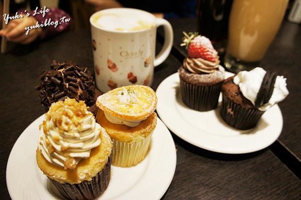 [板桥_食]*【大远百】Cloudy克劳蒂杯子蛋糕 ❤ 像天使般的纯真可爱.吃了好幸福 ❤ - yukiblog.tw