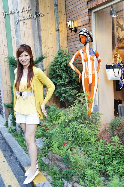 [2011韓國‧首爾行2+1]。22。┃三清洞┃仁寺洞┃傳統與摩登藝術擦出愛的火花❤獨特風味的街道❤ - yukiblog.tw