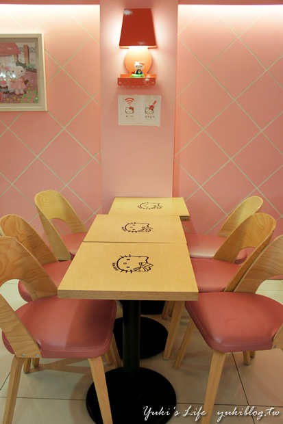 [韓國‧首爾行2+1]*31*迷路在好逛又古鏙的┃弘大停車場街 ┃& 令人尖叫著迷的┃Hello Kitty Cafe┃ - yukiblog.tw