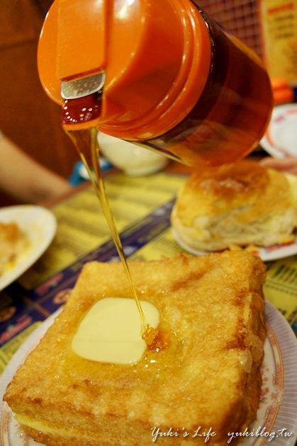 [2012夏‧香港]*旺角‧金华冰厅 ~ 来香港肯定得来杯港式奶茶&菠萝油+法兰西多士