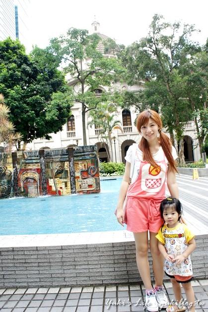 [2012夏‧香港]*中环‧皇后像广场(Statue Square) & 立法会大楼 - yukiblog.tw