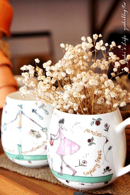[台中食記]*《時光咖啡》東海藝術街發呆品咖啡 ~ 可愛的雜貨風格 - yukiblog.tw