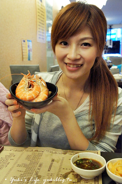 [台北食記]*金鍋盃小火鍋 ~ 比臉還大的巨蝦真的好酷‧牛奶起士鍋煮海鮮最讚! - yukiblog.tw