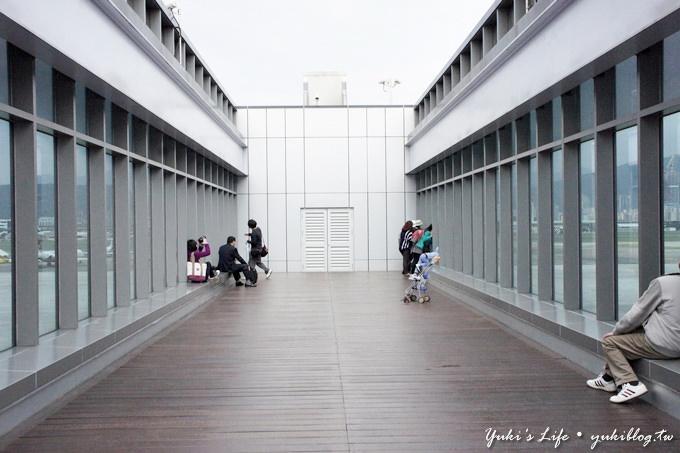 [台北親子旅遊]*松山機場‧臺北國際航空站觀景台 ~ 週休假期好去處 - yukiblog.tw