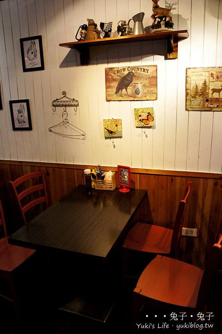 [台北下午茶]*Rabbit Rabbit 兔子兔子美式餐廳2店 (捷運忠孝敦化站) - yukiblog.tw