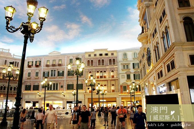 [澳門旅遊]*金碧輝煌の威尼斯人 & 超好吃の安德魯蛋塔