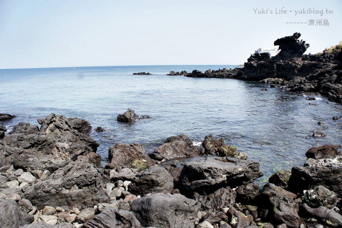 韓國濟洲島旅行【龍頭巖】天海一色.大家來找找傳說中的巨龍吧! - yukiblog.tw