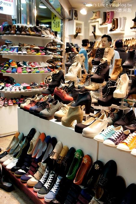韓國濟洲島旅行【中央地下購物街】不用風吹雨淋日曬的shopping點 - yukiblog.tw