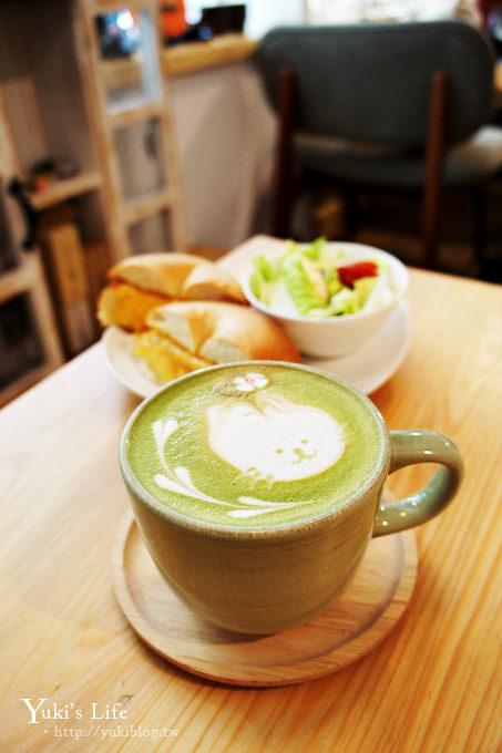 [台北下午茶]*民生社區〈六丁目Cafe〉● 咖啡‧輕食‧貝果‧可愛拉花