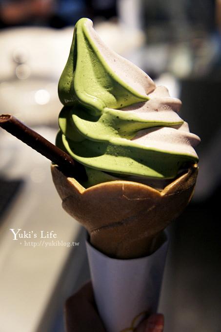 [台北食記]*永康街‧8%ICE冰淇淋專門店 ~ 一保堂抹茶 (東門站) - yukiblog.tw