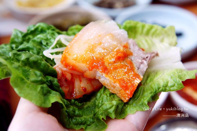 韓國濟洲島跟團用餐